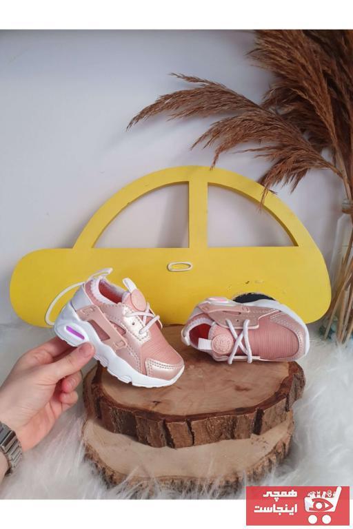 فروش اینترنتی کفش اسپرت نوزاد دخترانه با قیمت برند VOSVOSBABY رنگ صورتی ty82754966