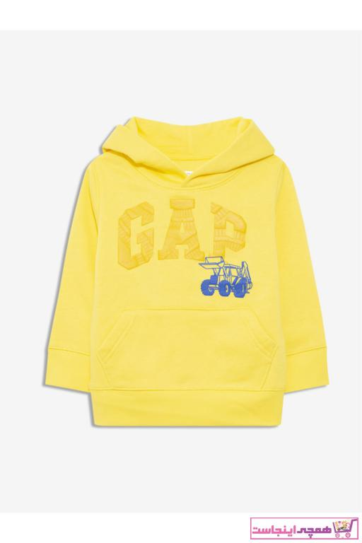 خرید ارزان سویشرت فانتزی نوزاد پسر برند GAP رنگ زرد ty82900456