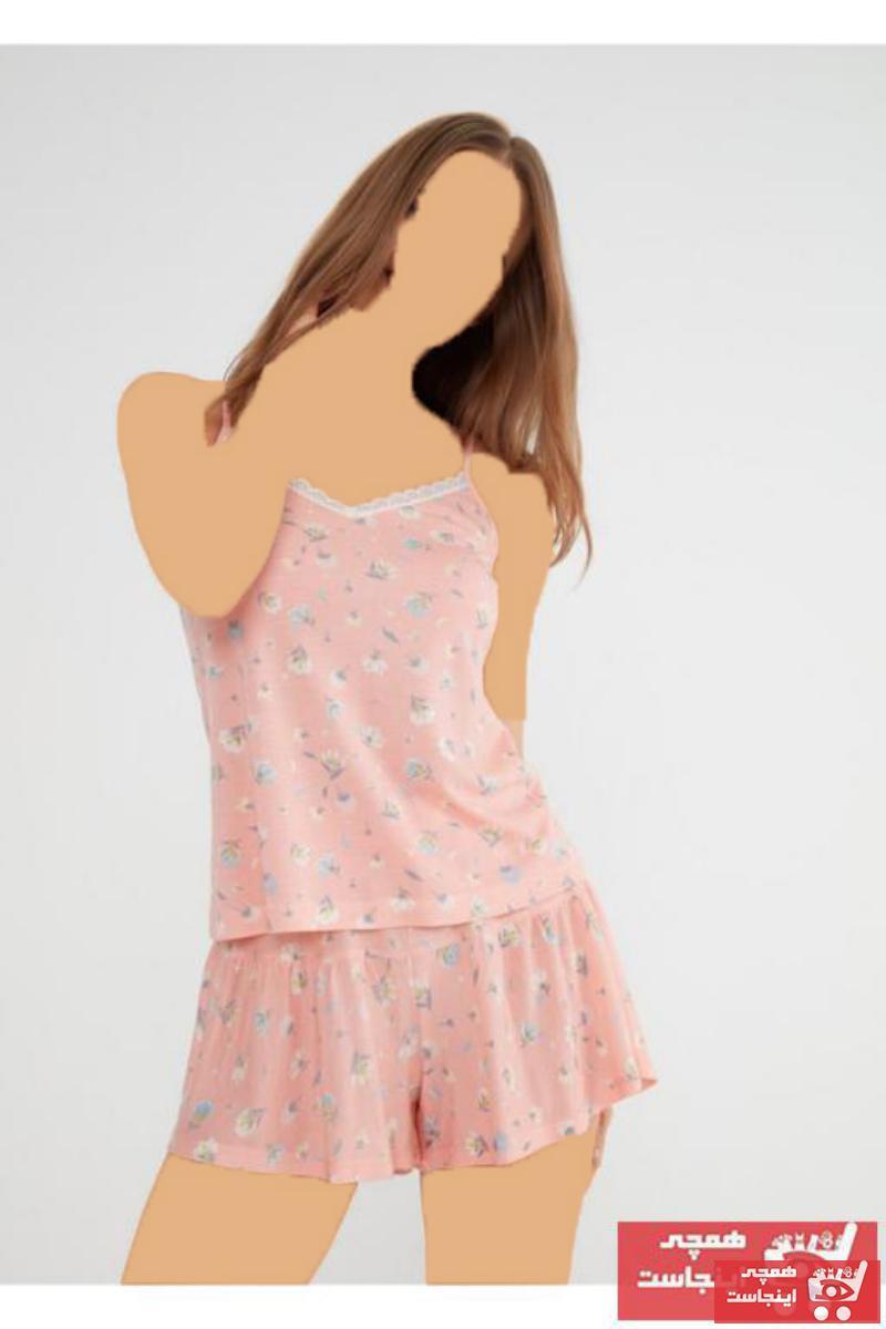 حرید اینترنتی تولوم زنانه ارزان برند SUWEN رنگ صورتی ty83264259