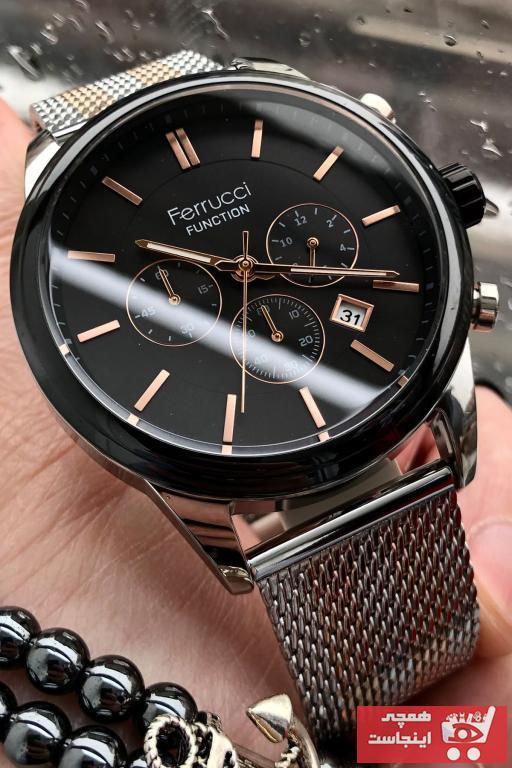 سفارش پستی ساعت مردانه اورجینال برند Ferrucci رنگ نقره کد ty83616423