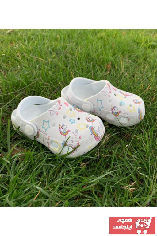 خرید اسان دمپایی نوزاد دخترانه زیبا برند GEZER کد ty83674995