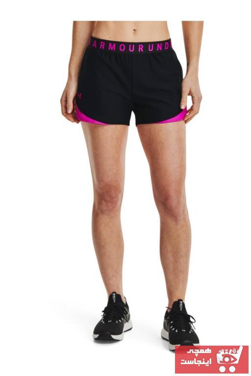 فروش شلوارک ورزشی مردانه جدید برند Under Armour رنگ مشکی کد ty83713139