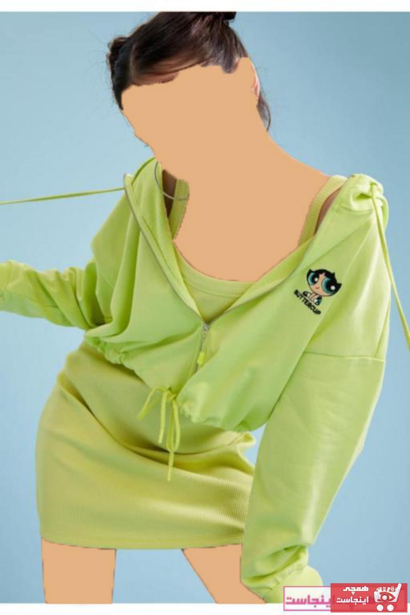 ژورنال ژاکت بافتی زنانه برند دفاکتو رنگ زرد ty83828365
