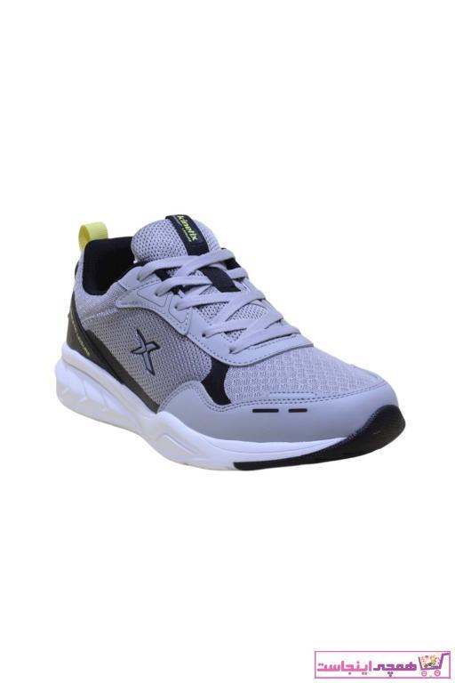 کفش مخصوص دویدن جدید مردانه شیک برند کینتیکس kinetix رنگ نقره ای کد ty84190178