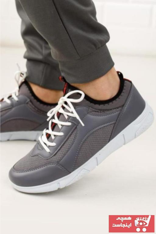 کفش اسپرت مردانه برند Moda Frato رنگ نقره ای کد ty84629828