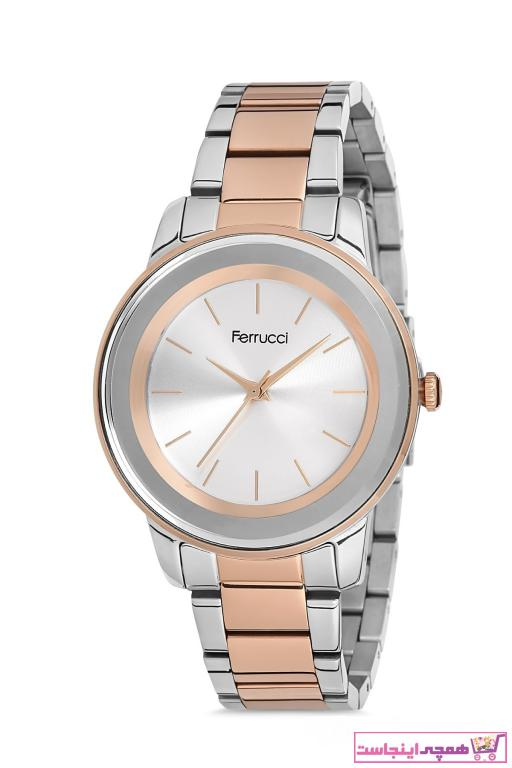 خرید ساعت زنانه برند Ferrucci رنگ نقره کد ty84689471