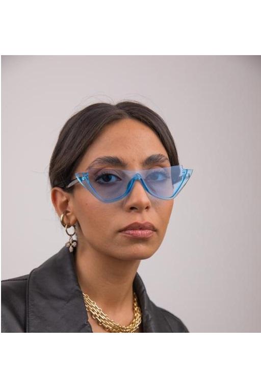 خرید انلاین عینک آفتابی طرح دار برند Bilge Karga رنگ آبی کد ty84733104