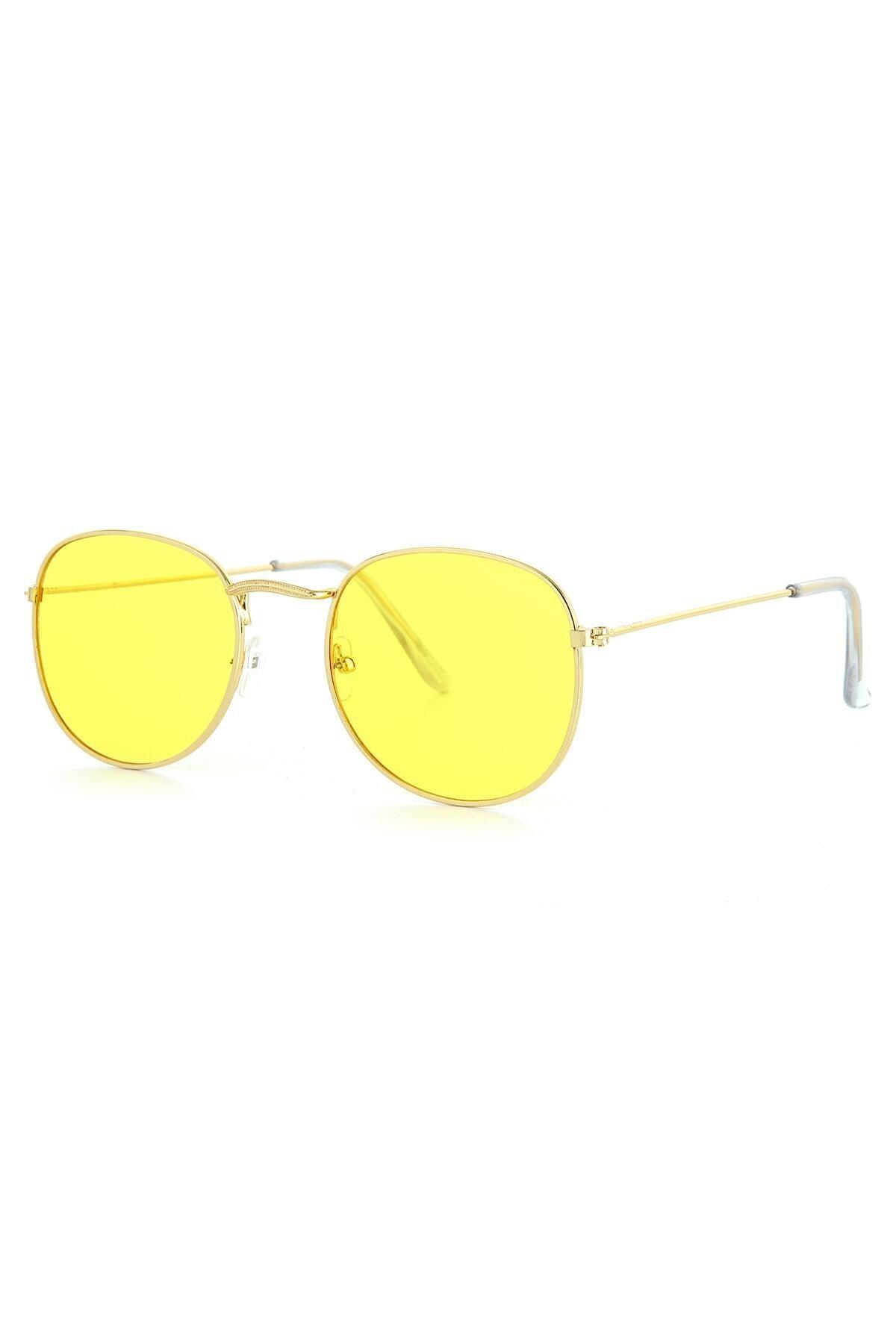 عینک آفتابی زنانه مجلسی برند ModaLucci رنگ زرد ty84848556