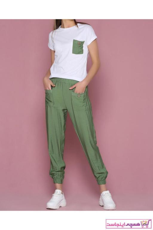 فروشگاه ست ورزشی زنانه اینترنتی برند Çarşım Mağazaları رنگ سبز کد ty84933746