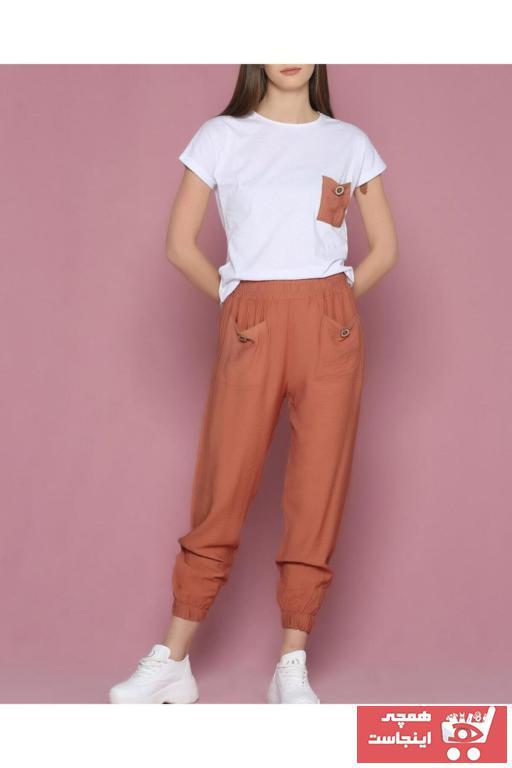 فروش انلاین ست ورزشی زنانه ارزان برند Çarşım Mağazaları رنگ نارنجی کد ty84992580
