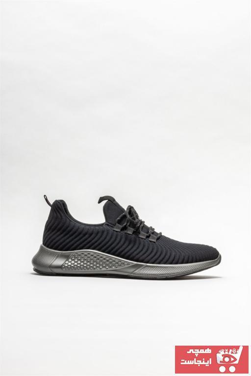 خرید انلاین کفش اسپرت مردانه ترکیه برند Elle Shoes رنگ مشکی کد ty85053026