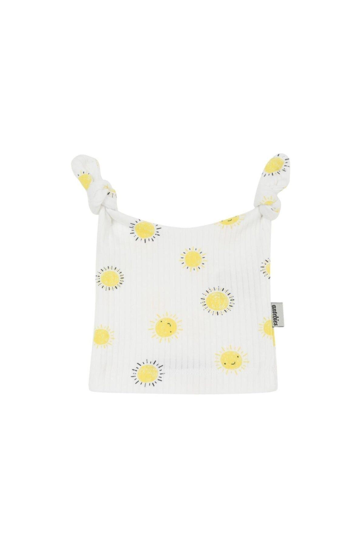 سرپوش نوزاد دختر ارزان برند antebies رنگ زرد ty85565839