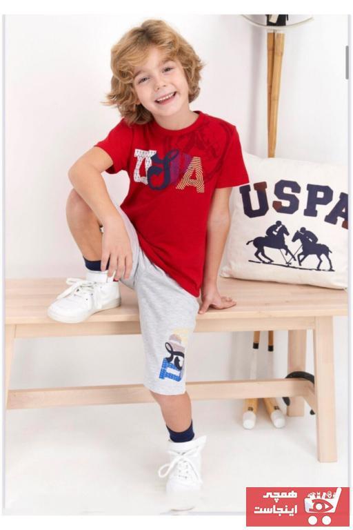 ست راحتی دخترانه ترکیه مارک U.S. Polo Assn.برند US Polo رنگ قرمز ty85726936