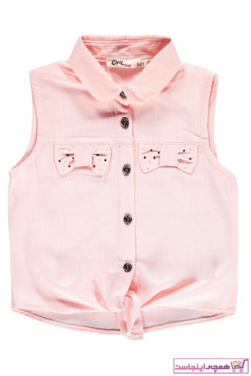 خرید اینترنتی شومیز نوزاد دختر برند Civil Girls رنگ صورتی ty85880100