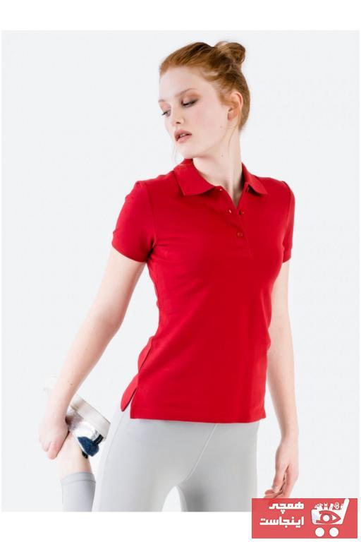 پولوشرت زنانه خاص برند JAHR MARC رنگ قرمز ty85963141