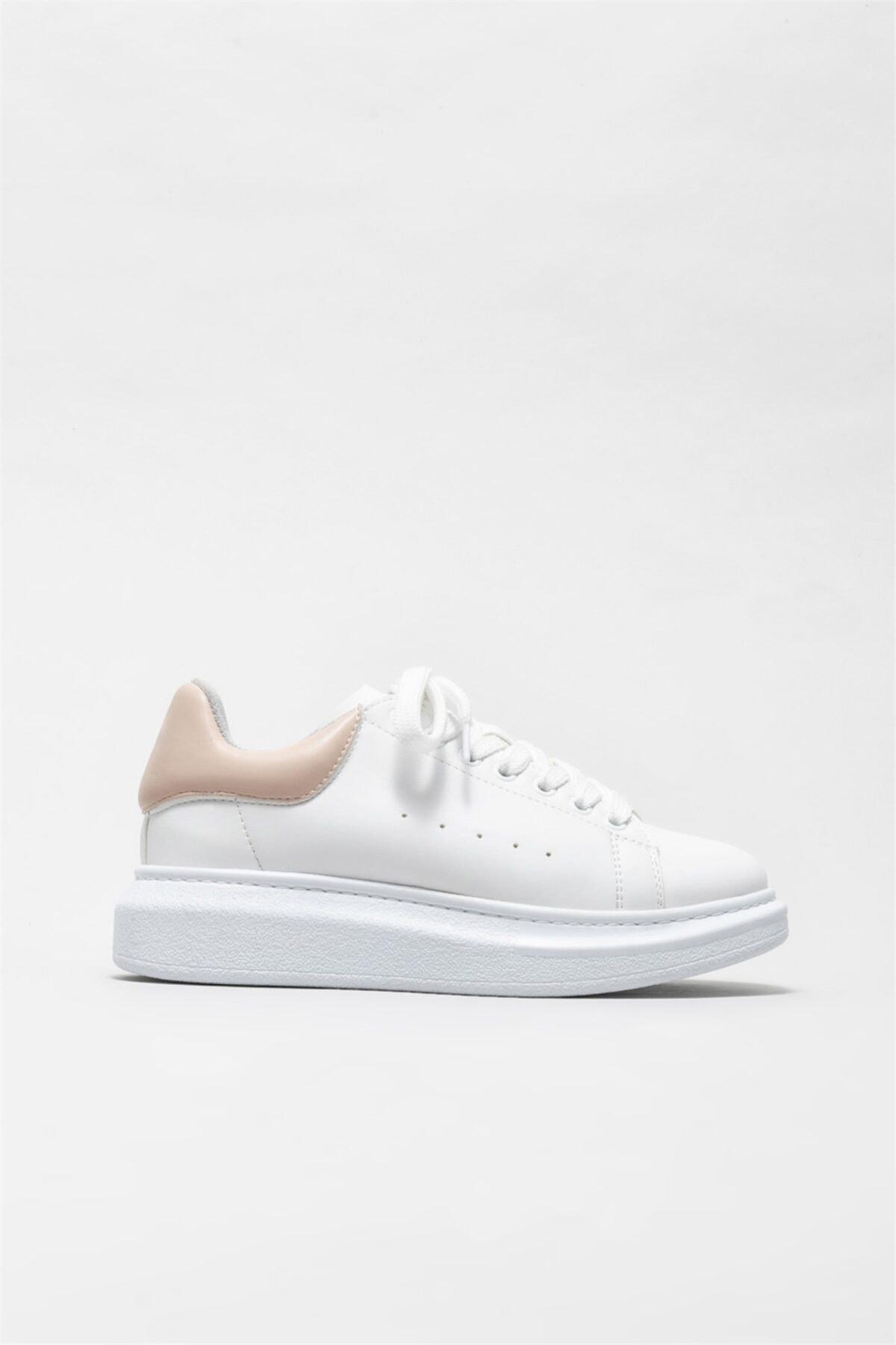 خرید انلاین کتانی طرح دار برند Elle Shoes رنگ صورتی ty86436494