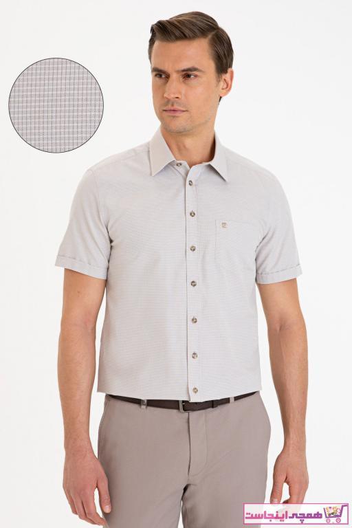 خرید انلاین پیراهن زیبا مردانه برند پیرکاردین رنگ بژ کد ty86645941