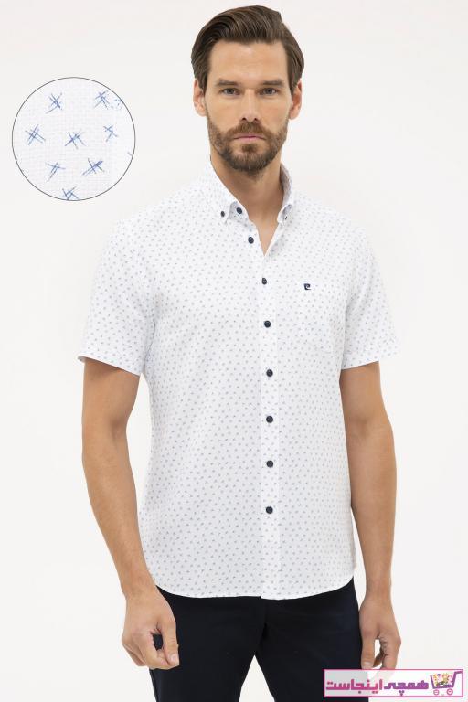 پیراهن مردانه سال ۹۹ برند پیرکاردین رنگ لاجوردی کد ty86645945