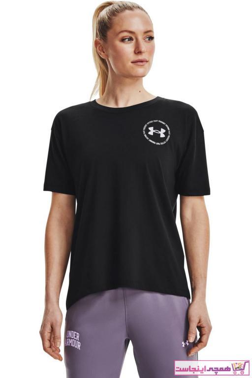 فروش اینترنتی تیشرت ورزشی زنانه با قیمت برند Under Armour رنگ مشکی کد ty87239471