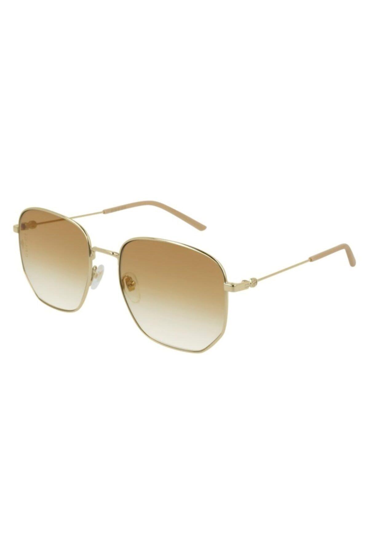 عینک آفتابی خاص زنانه برند گوچی رنگ طلایی ty87360129