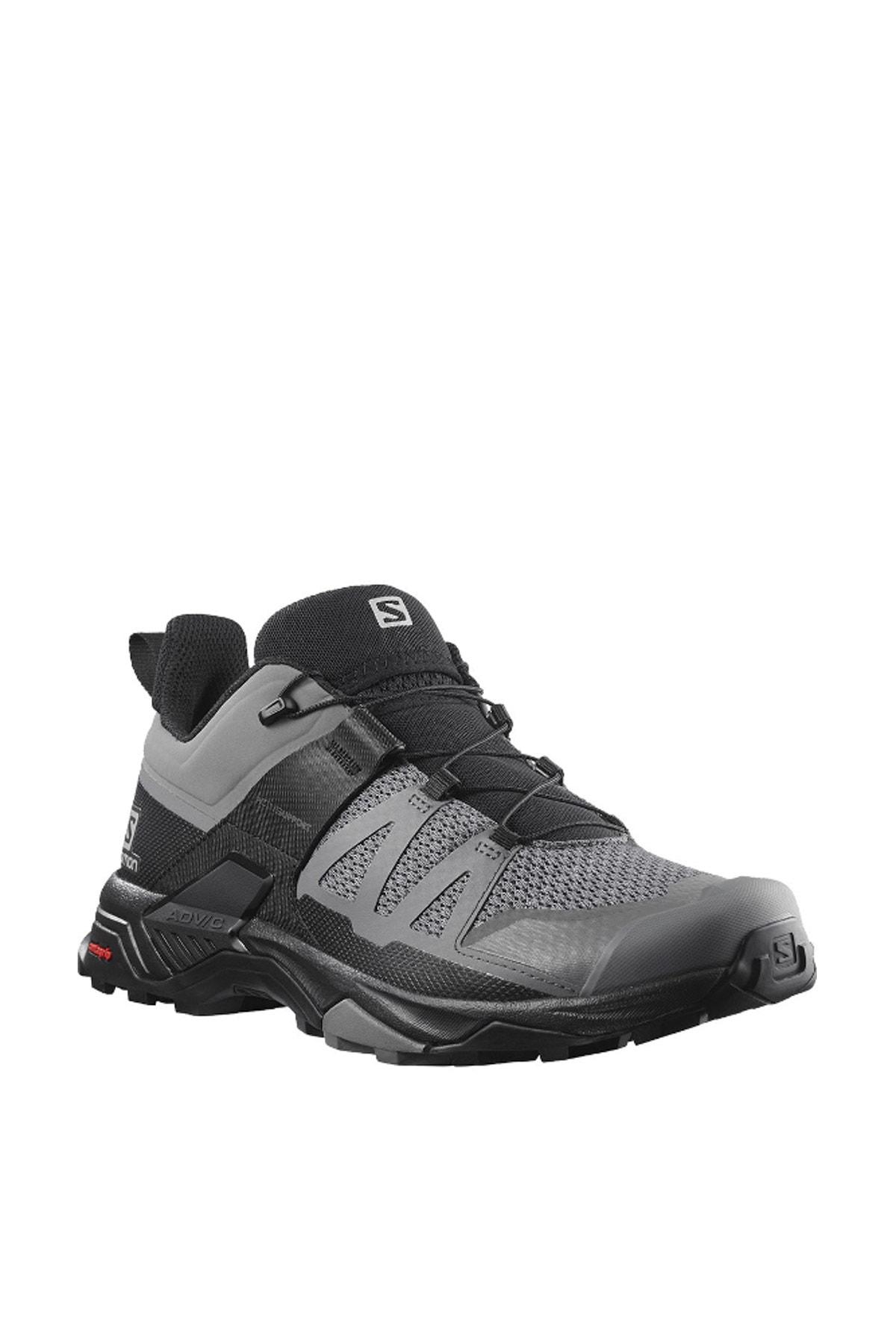 فروش پستی کفش کوهنوردی مردانه شیک جدید برند Salomon رنگ نقره ای کد ty87571547