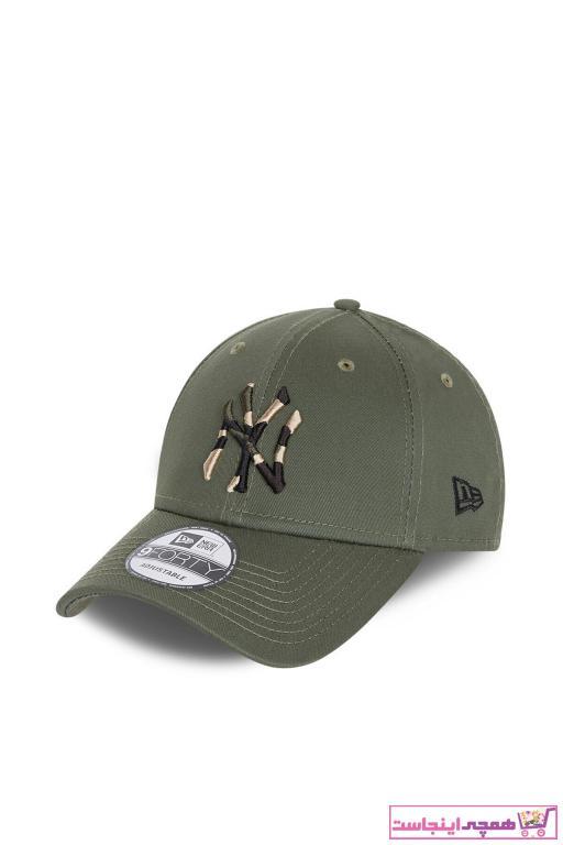 کلاه مردانه طرح دار برند NEW ERA رنگ قهوه ای کد ty87790319