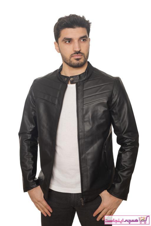 فروش ژاکت چرم مردانه 2020 برند LİON KİNGS رنگ مشکی کد ty88001482
