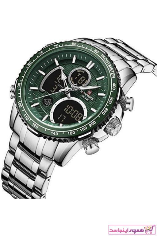 فروش ساعت مچی مردانه  برند Naviforce رنگ سبز کد ty88065361