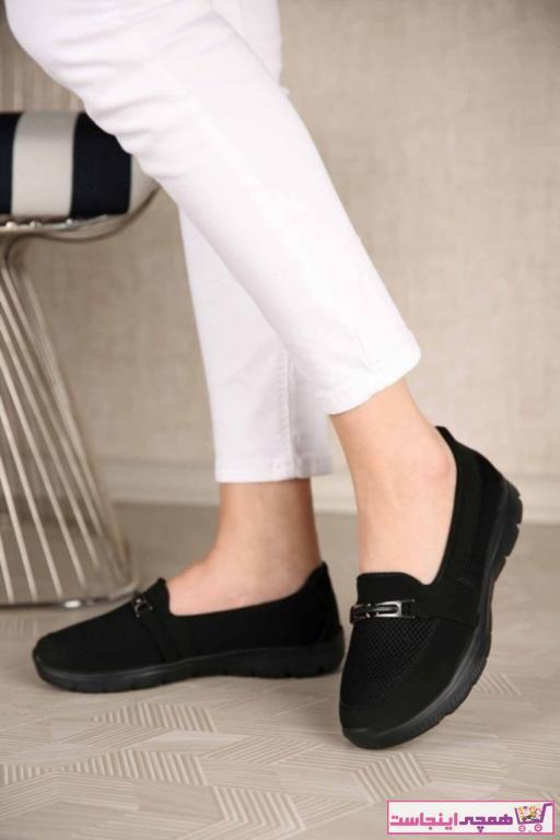 خرید انلاین کفش تخت دخترانه خاص برند AYŞEM رنگ مشکی کد ty88084885