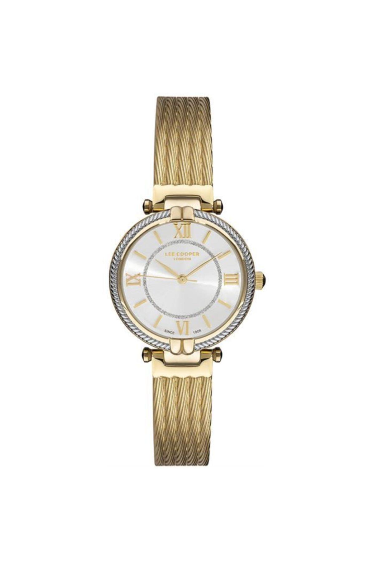 خرید ساعت مچی زنانه  اصل برند Lee Cooper رنگ زرد ty88441954
