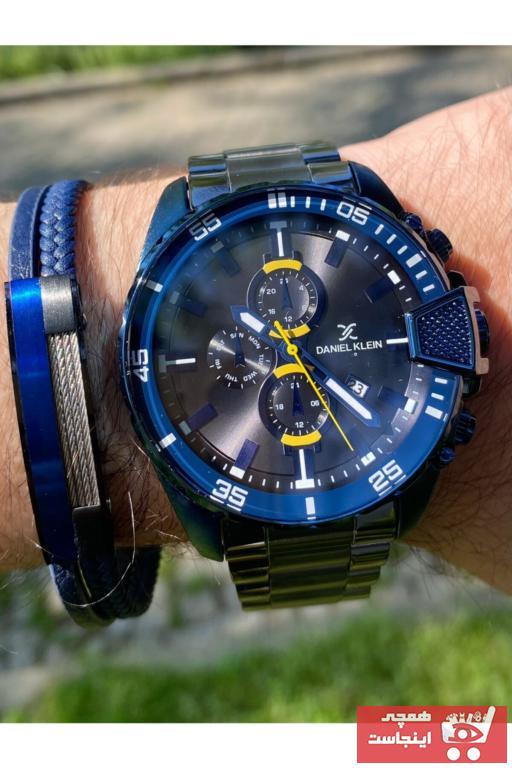 خرید پستی ساعت زنانه ارزان برند Daniel Klein رنگ لاجوردی کد ty88457881