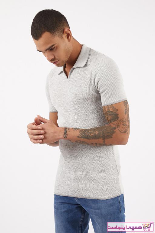 تی شرت بلند برند LAGOS رنگ نقره ای کد ty88481688
