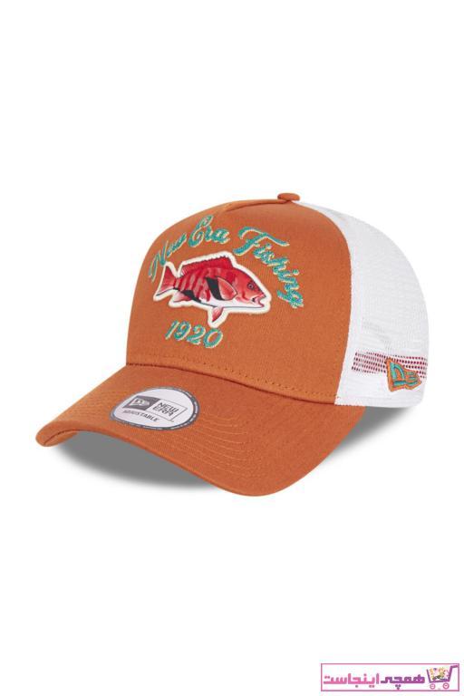 کلاه مردانه مدل برند NEW ERA رنگ نارنجی کد ty88528963