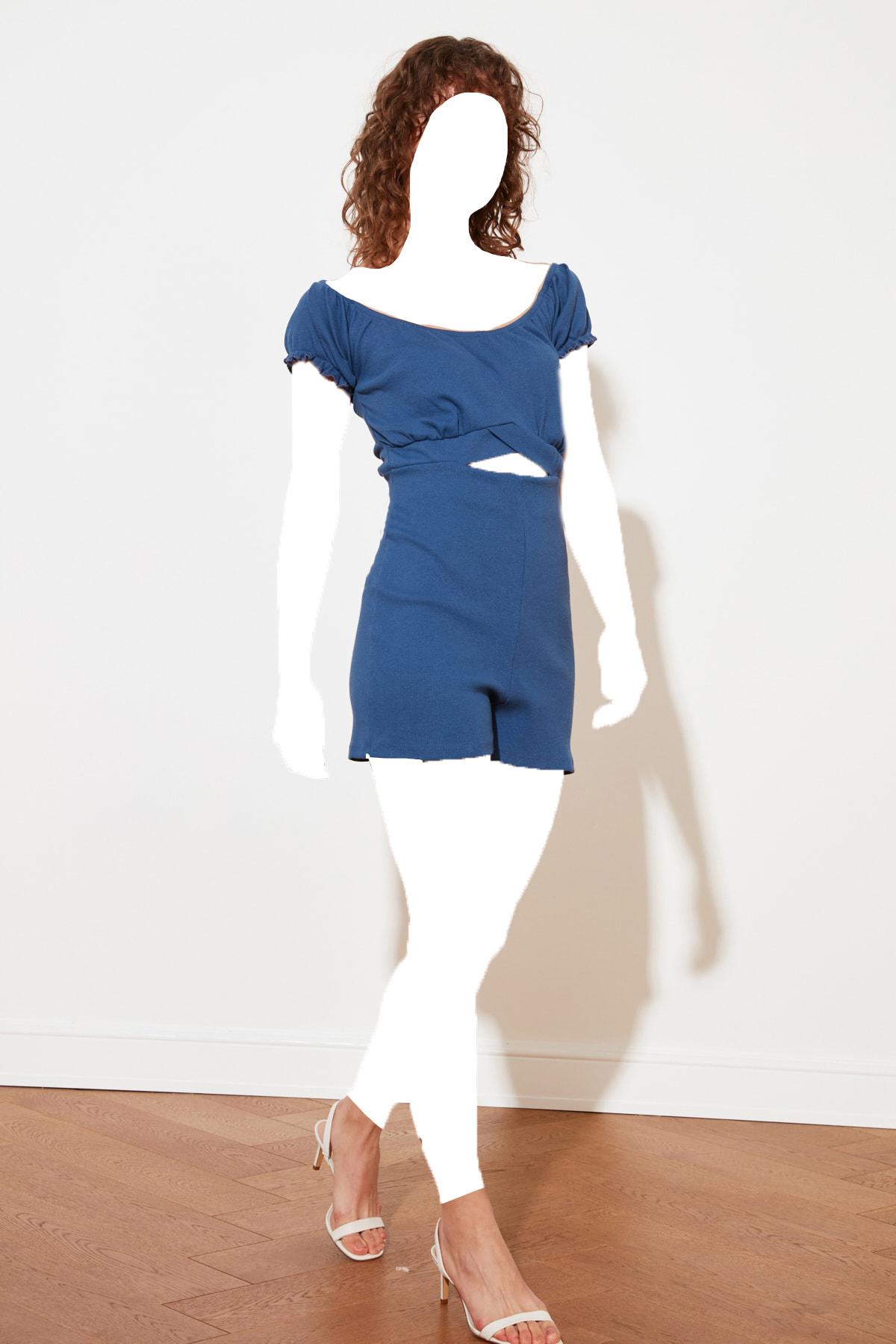 خرید تولوم 2020 زنانه برند ترندیول میلا ترک رنگ آبی کد ty88589879