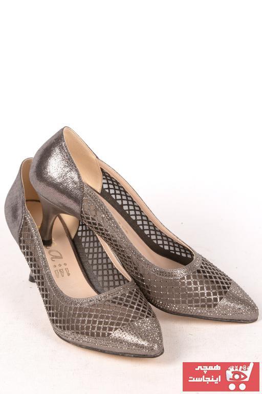 خرید مستقیم کفش پاشنه بلند مجلسی جدید MISS JENA رنگ نقره ای کد ty88767731