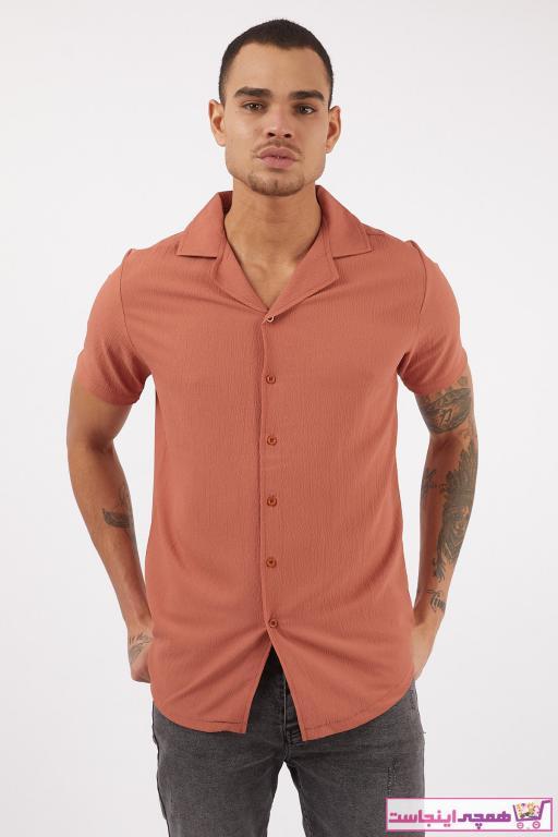خرید پستی پیراهن زیبا برند LAGOS رنگ نارنجی کد ty88828178