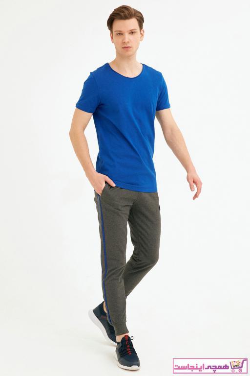 فروش شلواراسلش مردانه حراجی برند Fulla Moda رنگ نقره ای کد ty88867650