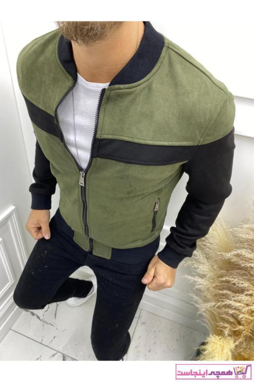 ژاکت زیبا مردانه برند ROLETTI رنگ سبز کد ty88879353