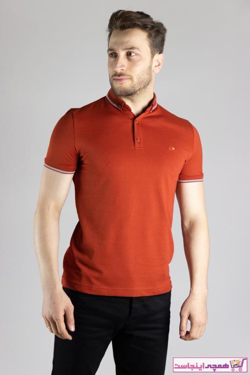 تی شرت مردانه مارک بند ZEKİ ÖZER رنگ نارنجی کد ty88979901