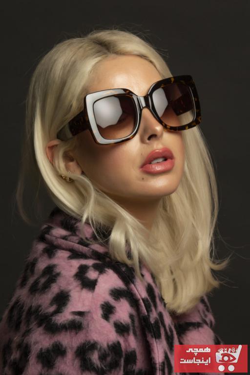 عینک آفتابی زنانه فانتزی برند Polo U.K. رنگ قهوه ای کد ty89058604