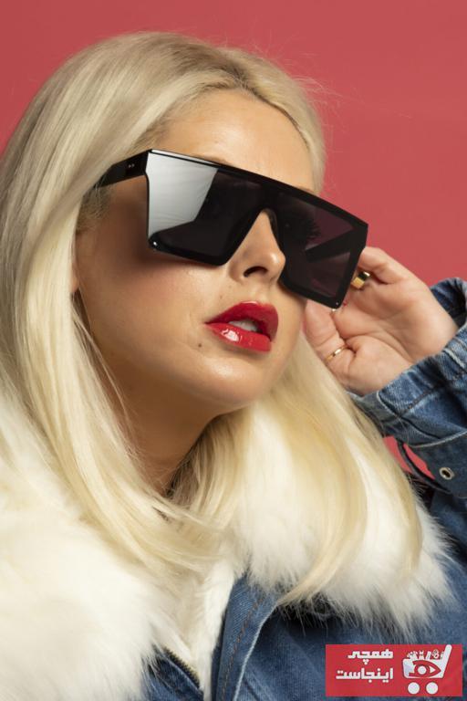 عینک آفتابی زنانه کوتاه برند Polo U.K. رنگ مشکی کد ty89084431