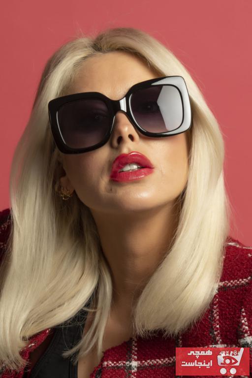 خرید نقدی عینک آفتابی زنانه فروشگاه اینترنتی برند Polo U.K. رنگ مشکی کد ty89089055