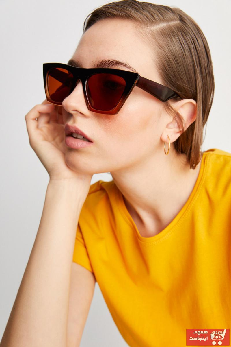عینک آفتابی زمستانی زنانه برند Aqua Di Polo 1987 رنگ قهوه ای کد ty89140319