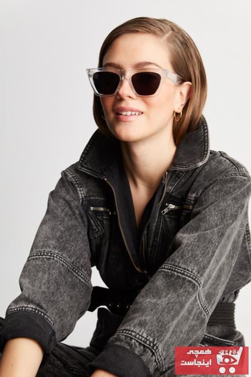 فروش عینک آفتابی زنانه شیک و جدید مارک Aqua Di Polo 1987 رنگ نارنجی کد ty89143242