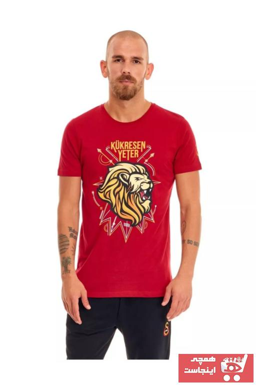 فروش تیشرت ورزشی مردانه نخی برند Galatasaray رنگ قرمز ty89152513