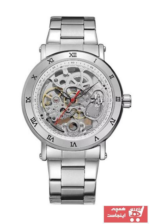 خرید پستی ساعت مردانه  برند Forsining رنگ نقره کد ty89192523