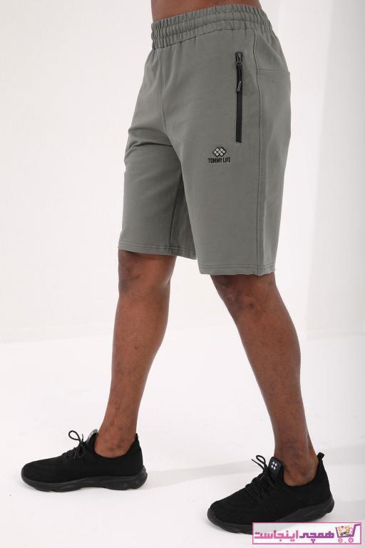 شلوارک مردانه خاص برند تامی لایف رنگ سبز کد ty89240186