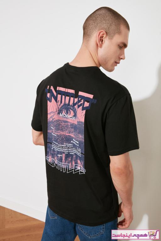 تی شرت 2020 مردانه مارک ترندیول مرد رنگ مشکی کد ty89251932