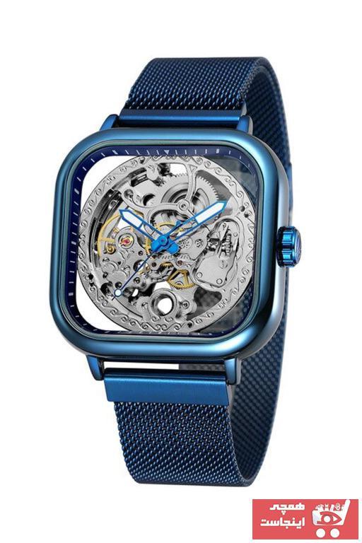 خرید آنلاین ساعت مچی مردانه لوکس برند Forsining رنگ لاجوردی کد ty89384245