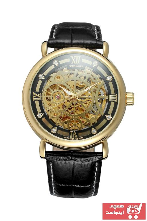 خرید ساعت مردانه اصل برند Forsining رنگ مشکی کد ty89403577